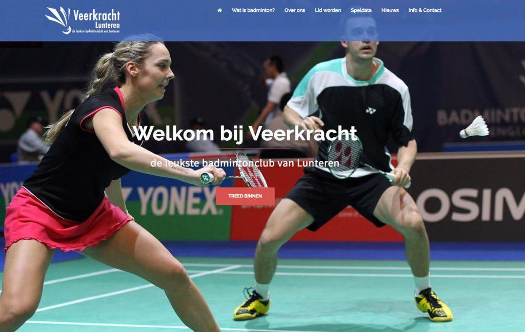 webdesign wordpress website voor Veerkracht Lunteren