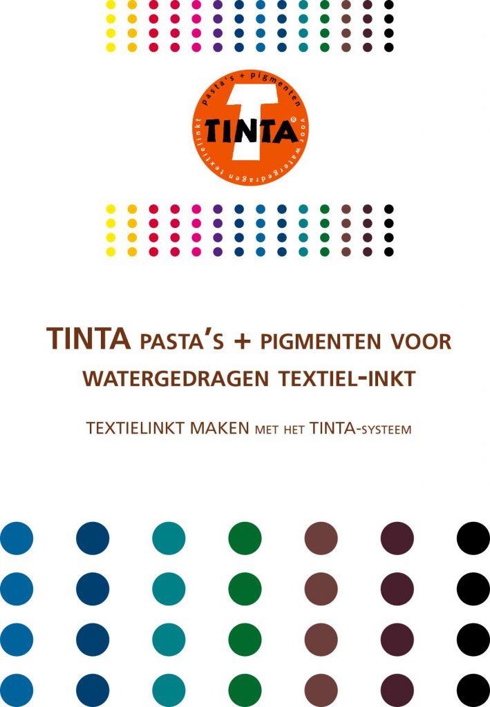 Pasta en pigmenten kleur kaart voor bedrijf uit Ede