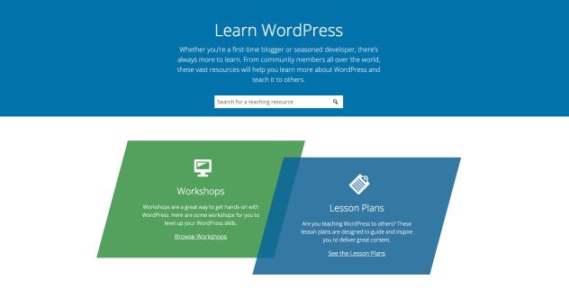 Introducing Learn WordPress 1