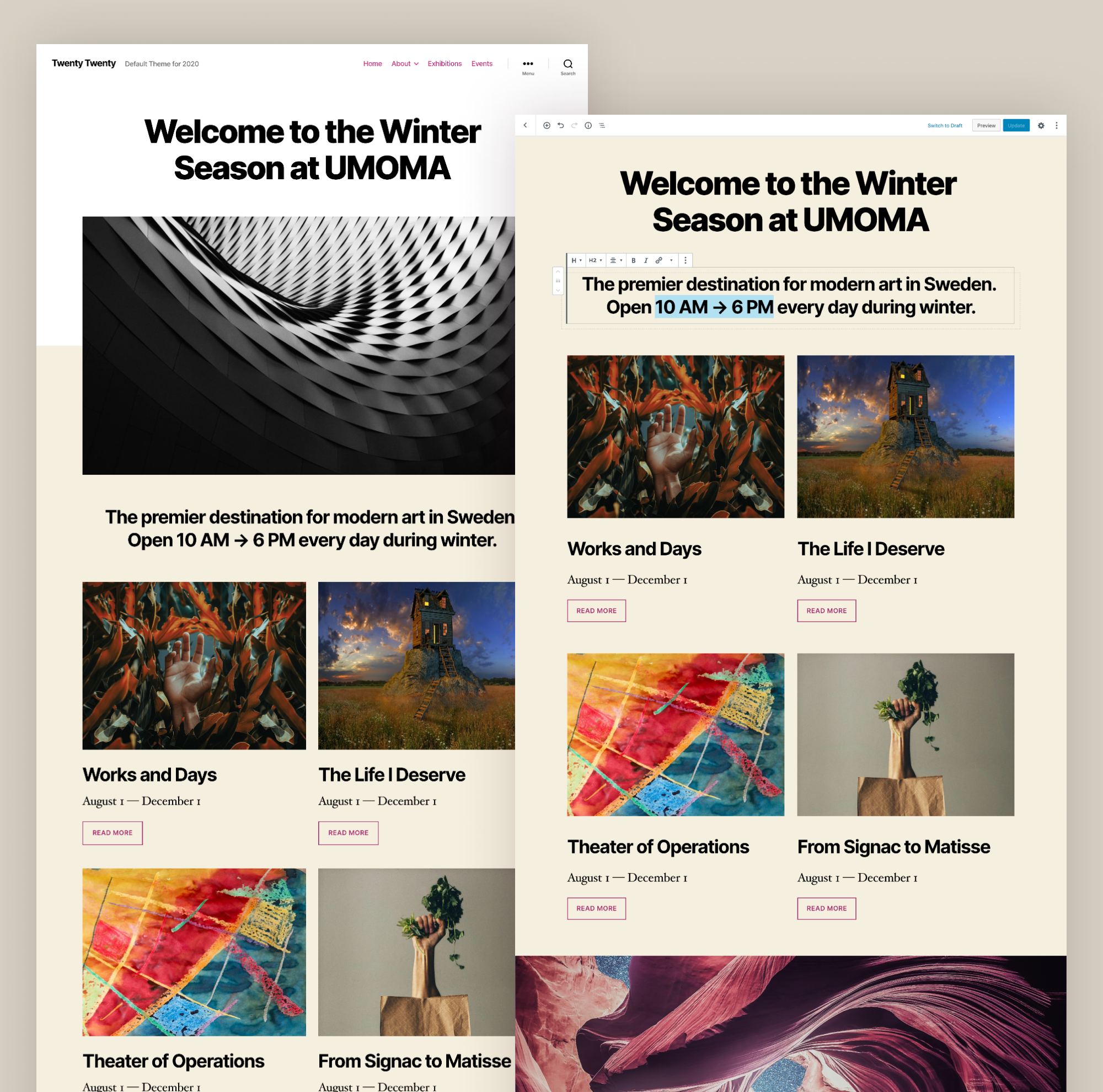 WordPress 5.3 is vrijgegeven 1